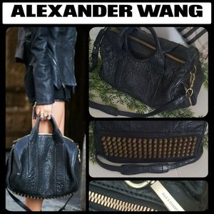 ♠️AUTHENTIC ALEXANDER WANG♠️ ROCCO STUDDED BAG